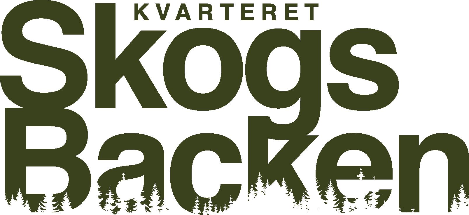 Logotyp för Kvarteret Skogsbacken