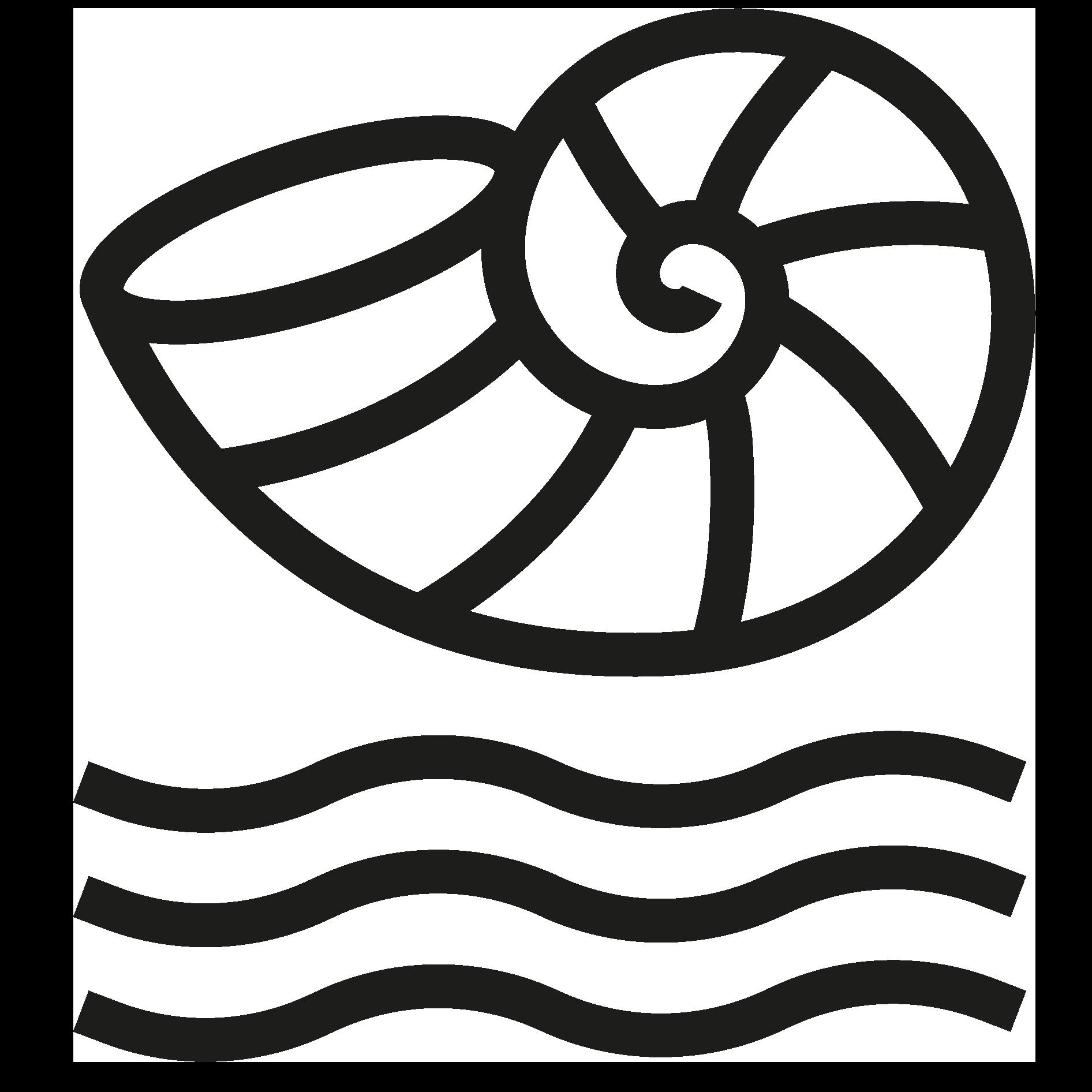 Logotyp för Snäckgärdsbaden